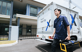 Fast Fix บริการงานซ่อมเร่งด่วน จาก Sansiri Living Care